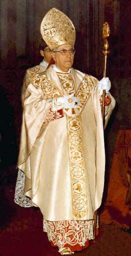 foto del cardinale giuseppe siri